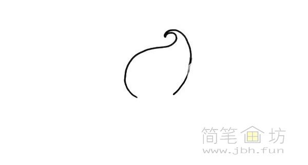 卡通甜筒简笔画【彩色】(1)