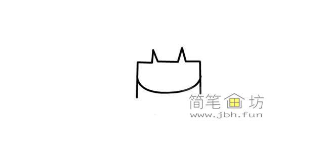 可爱的长发小女孩的简笔画画法教程【彩色】(1)