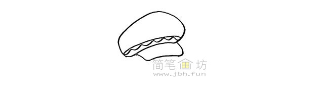 警察叔叔简笔画画法教程【彩色】(2)