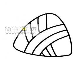 2幅粽子的画法简笔画图片