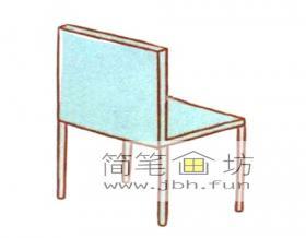 椅子的简笔画教程