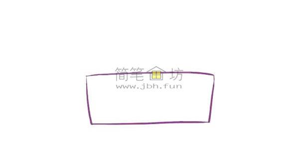儿童简笔画彩色生日蛋糕画法(1)