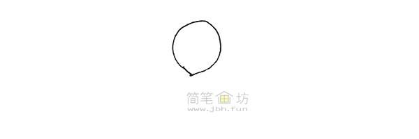 七彩气球简笔画绘画步骤【彩色】(1)