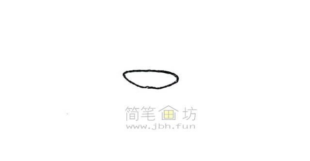 火锅简笔画绘画步骤教程【彩色】(1)