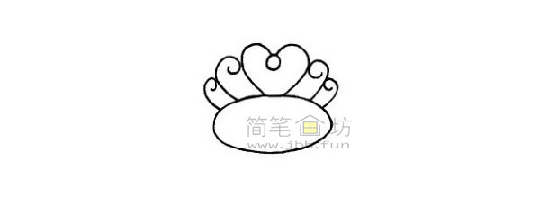 戒指简笔画绘画步骤(4)