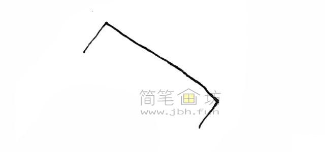 锋利的锯子简笔画绘画步骤【彩色】(1)