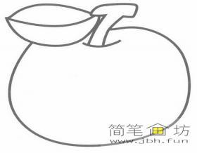 超级简单的儿童简笔画苹果的画法