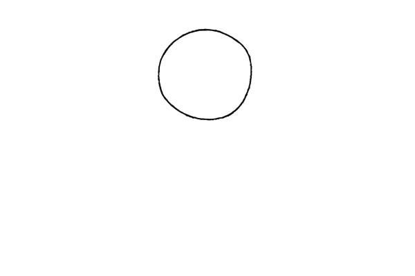 简单好看的儿童简笔画太阳花的画法步骤教程(1)