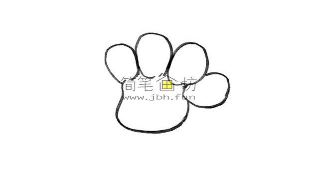 幼儿学画画_漂亮的卡通太阳花画法(3)
