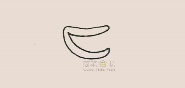 食人花简笔画绘画步骤【彩色】(2)