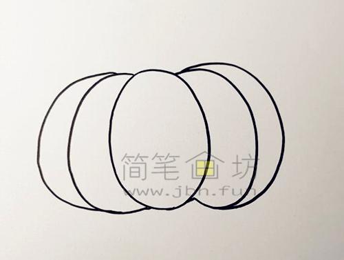 教你画一个又大又圆的南瓜【彩色】(2)
