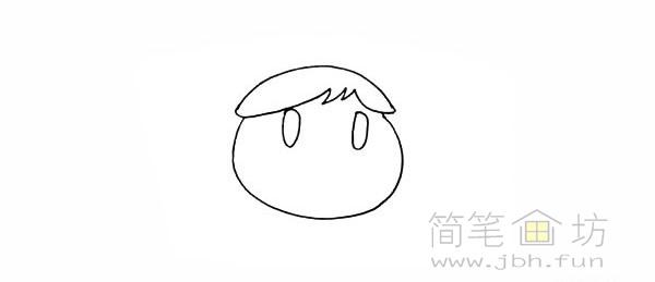 卡通向日葵简笔画彩色画法【彩色】(4)