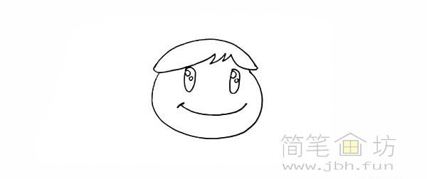 卡通向日葵简笔画彩色画法【彩色】(6)