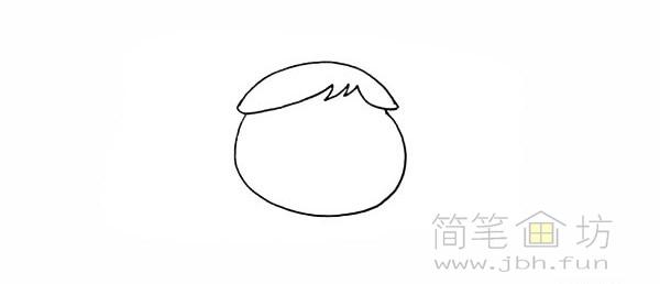 卡通向日葵简笔画彩色画法【彩色】(3)